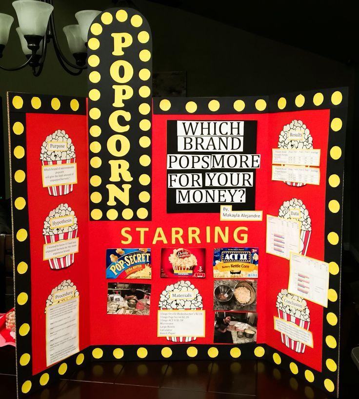 popcorn science fair project