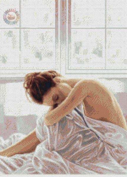 Girl in White 1