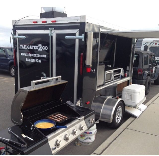 Tailgate Trailers for the ULTIMATE tailgating experience. Perfect for Jets, Giants, and Rutgers games.   www.tailgates2go.com