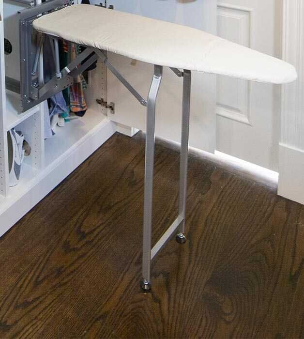 Fold Out Ironing Board In 2020 Laundry Storage Laundry Mud Room Storage System