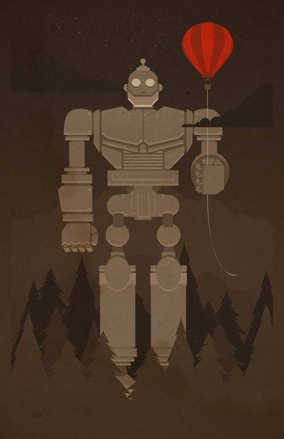 The robot and the balloon by danny haas