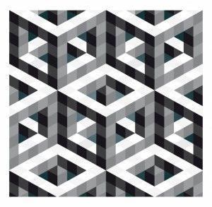 Hollow Necker Cube by Robin Hunnam