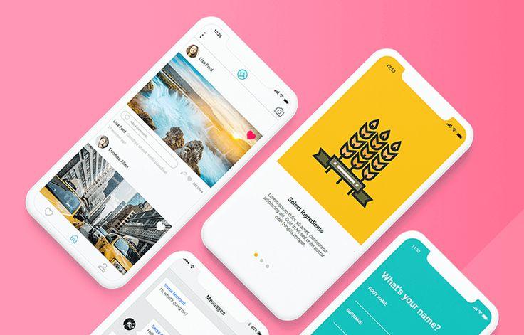 App Design Development In 2021 Mobile Mockup Mockup Design Mockup Templates