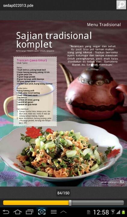 Salad of east java
