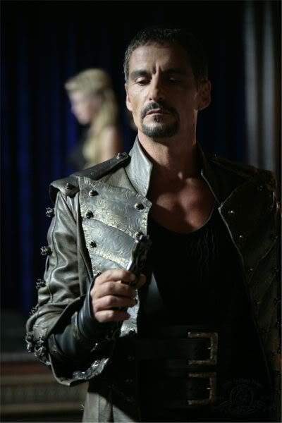 One sexy Goa'uld, Cliff Simon as Ba'al