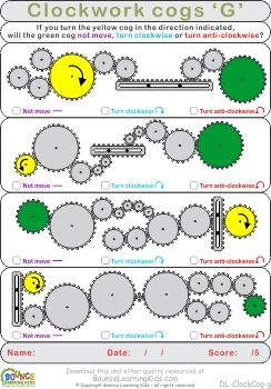 Clockwork cogs worksheets to hone visual perception skills:  http://bouncelearningkids.com/ws-clockcog/