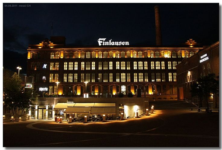 Tampere - the Finlayson