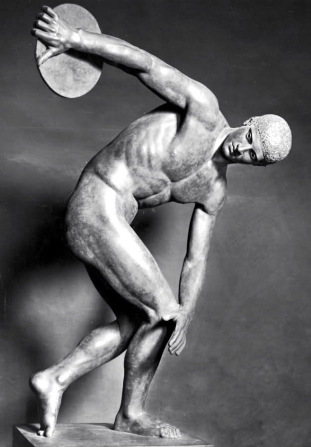 Exercise, sport, and fitness was very important to men of the Classical Period.  Athletics were done in the nude to show a man's strong body.