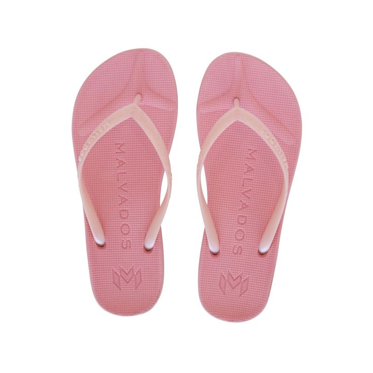 Malvados Playa in Lollipop is a luxurious and comfortable flip flop with molded footbed