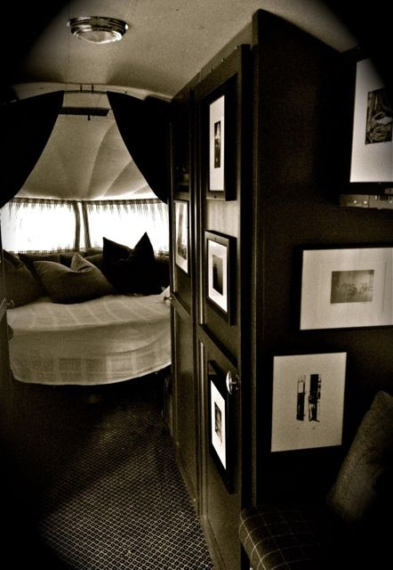Lauren Ralph Airstream Basecamp   Please take a moment to view all the photos and review the ...this is a classy travel trailor!
