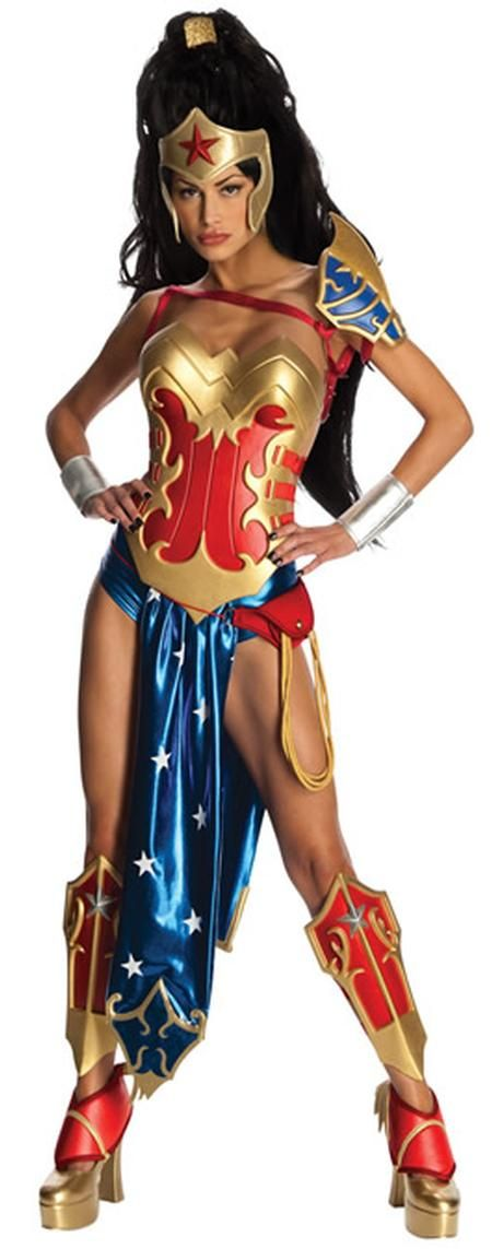 An anime version of Wonder Woman (from Earth 11), our Ame-Comi Wonder Woman Adult Costume is sexy and ready for battle! This Ame-Comi Wonder Woman Adult Costume includes a bodice, panties, loin cloth, headpiece, shoulder guard, arm straps, wristbands, pouch with lasso, leg guards and shoe covers. Wear this at a Halloween or Super Hero/Heroine themed party!