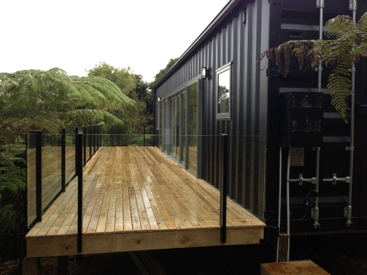 Kennedy Cubular Container Buildings Ashe Lake Home In