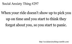 Social Anxiety Thing #297