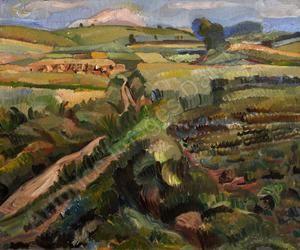 Limburgs landschap,Edmond BELLEFROID