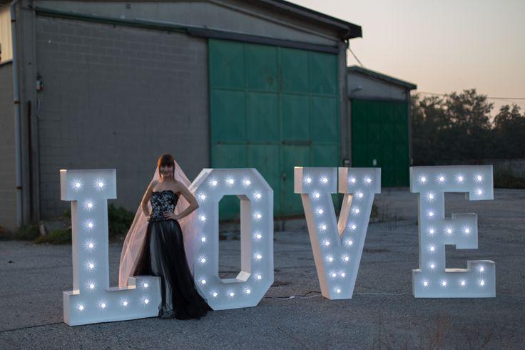 LOVE LUMINOSO (vedi sezione 'Wedding Service')
