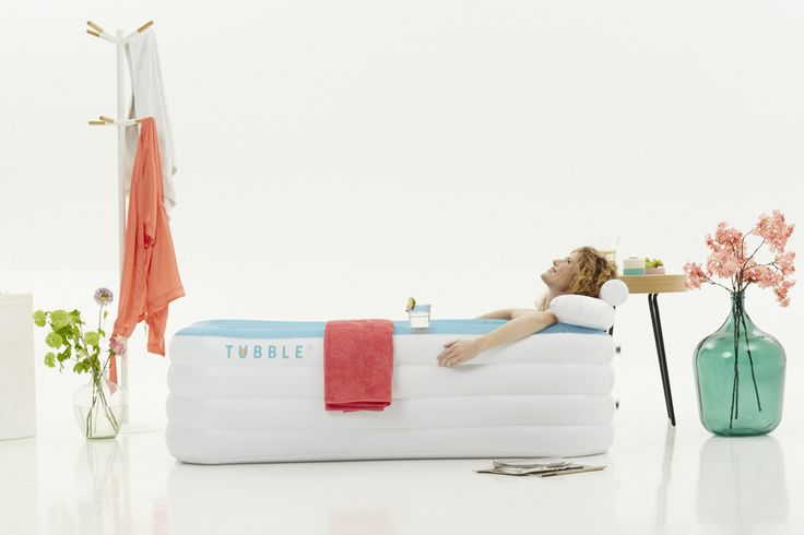Small bathroom is no longer an obstacle thanks to the inflatable Tubble bath! Set it up anywhere you desire and relax. For more details visit our website http://tubble.com