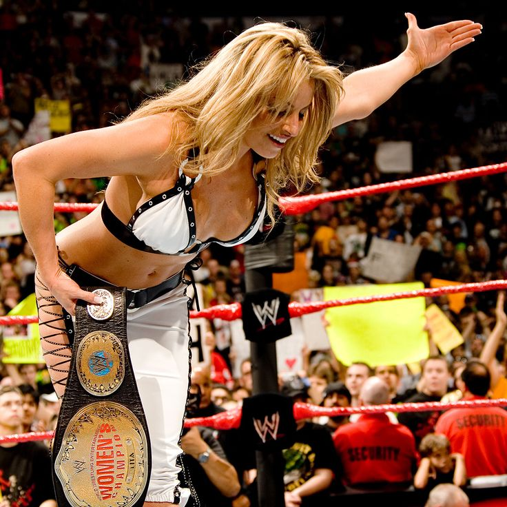 Happy birthday to #WWE Hall of Famer, @trishstratuscom! We hope your day has 100% Stratusfaction guaranteed! #HappyBirthdayTrish