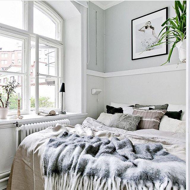 Bedroom styling by lovely @jgamnis at @introinred for @bjurfors_goteborg