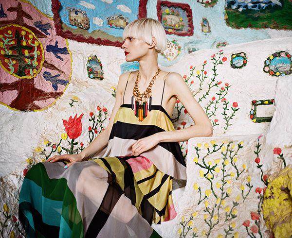 Salvation Mountain, fashion editorial by Julia Galdo and Cody Cloud - ego-alterego.com