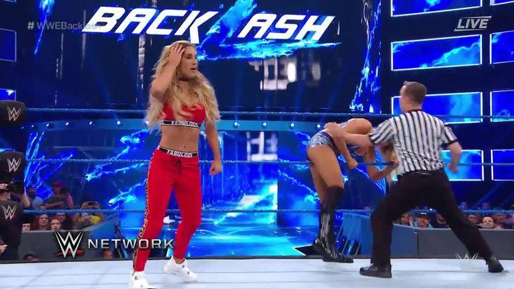 WWE SmackDown Live Women's Champion Naomi may glow, but Carmella shows NO ME...