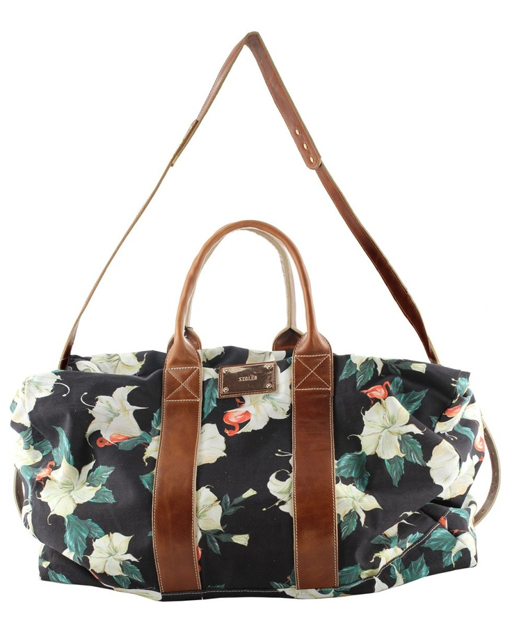 One Night Stand Bag - Datura Print - What's New