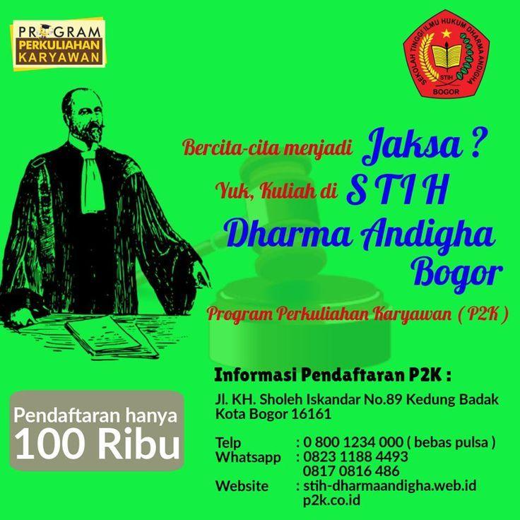 Akreditasi Sekolah Tinggi Ilmu Hukum Dharma Andhiga