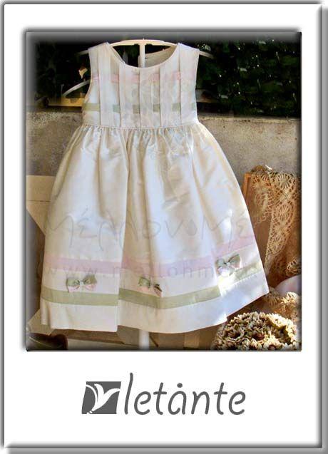 μεταξωτό φόρεμα Letante