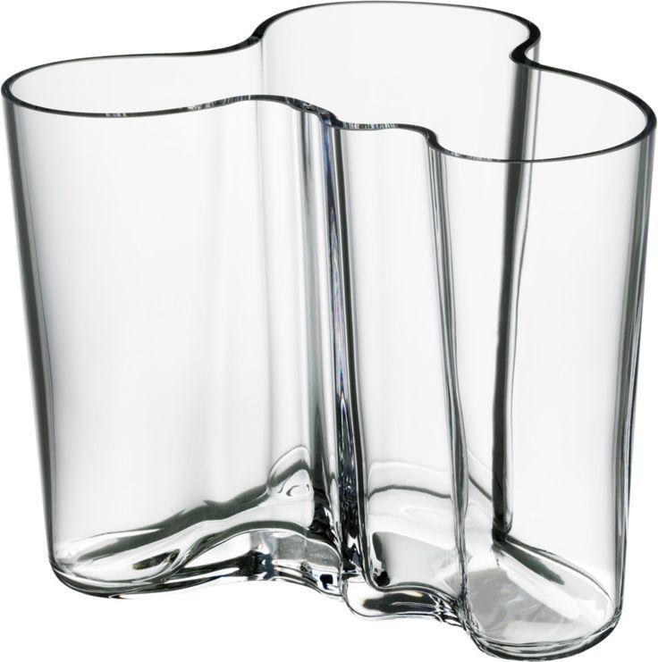 Iittala - Alvar Aalto Collection Vase 120 mm clear - Iittala.com