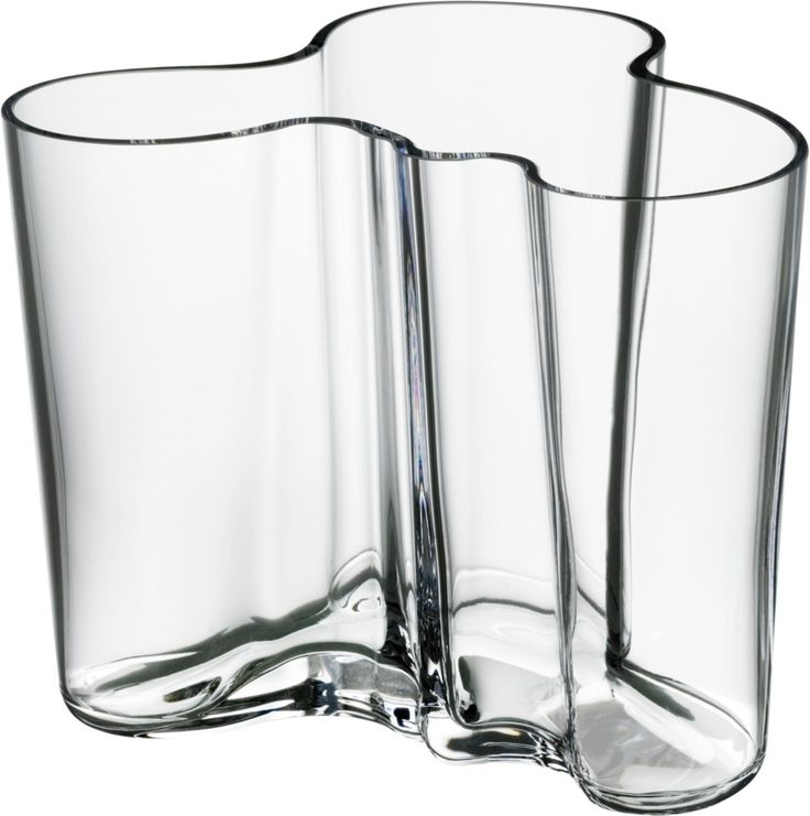 Iittala - Alvar Aalto Collection Vase 120 mm clear - Iittala.com