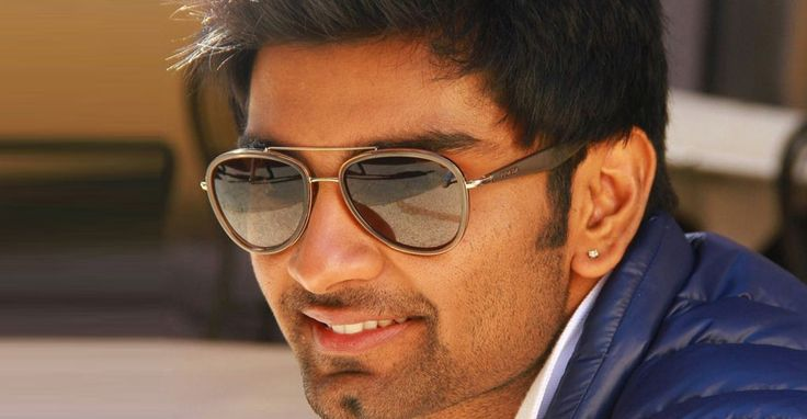 #Atharva all excited -  It is all smile in the face of #Atharvaa. The #Paradesi…