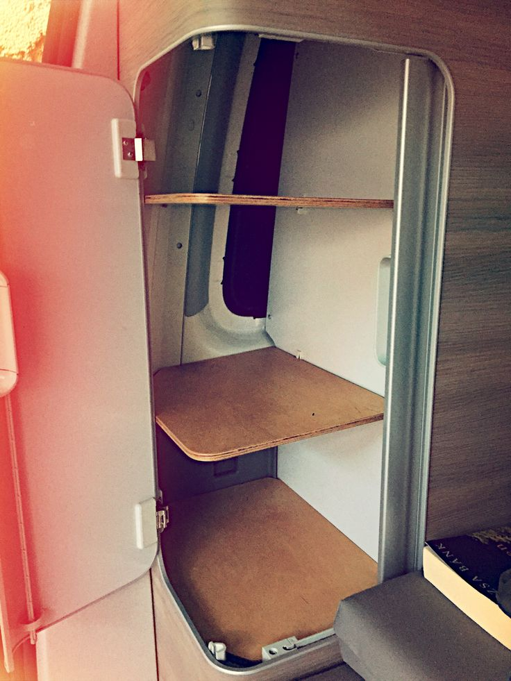 #vanlife #vantale #campervan #interior  Wooden shelves for VW T5 California. Designed by VANTALE. Van life Interior should be more than grey. When you out in nature you want to get into a homey van.