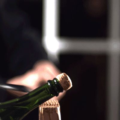 Forget popping bottles, learn how to saber a bottle of #champagne instead.