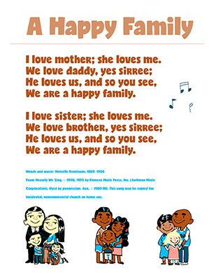 Primary Feb 2018- We Have Special Families- A Happy Family Song- LatterdayVillag… – Red Brick Store