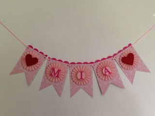 *LaLaLa ymcg crafting*: Bunting & Birthday card