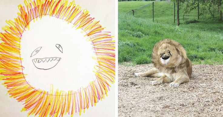 Father Turns His 6-Year-Old Son's Doodles Into Absurd Real-Life Creations