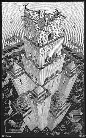 Escher - Torre de Babel