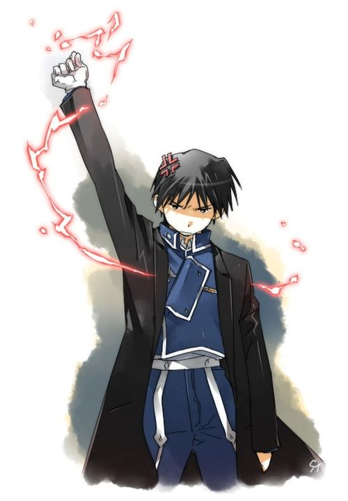 The flame alchemist is feeling fabulous Fullmetal Alchemist brotherhood Flame Alchemist for Fuehrer Roy Mustang