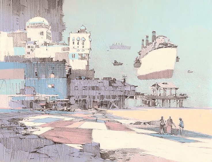 ArtStation - Various Places - 10, Theo Prins