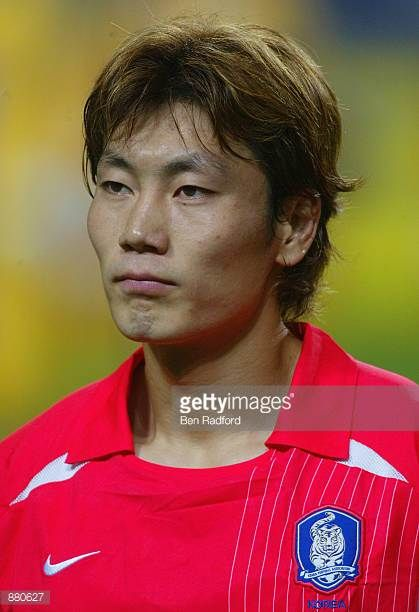 Chong Gug Song of South Korea before the Germany v South Korea World Cup Semifinal Stage match played at the Seoul World Cup Stadium Seoul South...