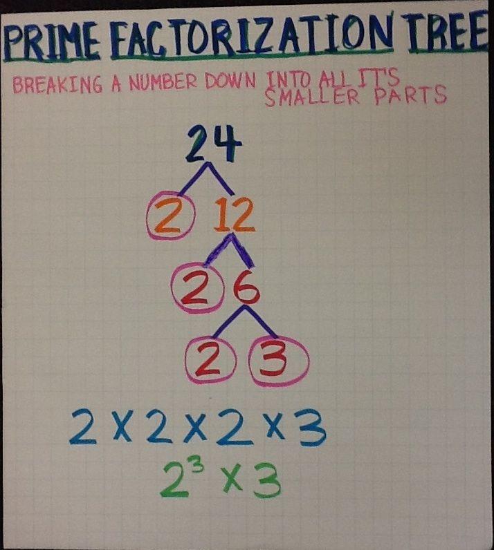 Prime Factorization Tree