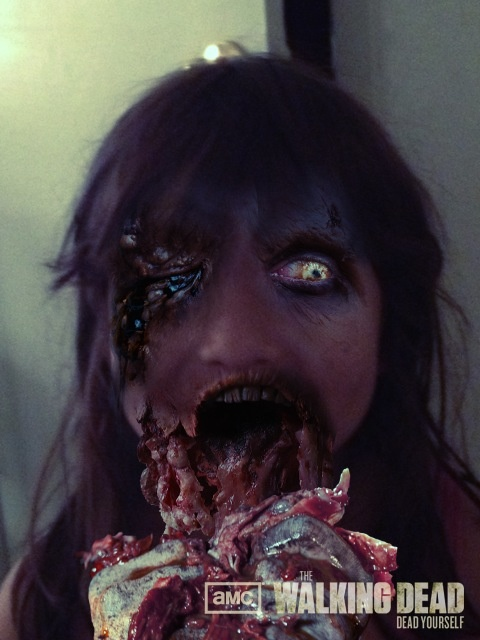 Zombies eating dogs
