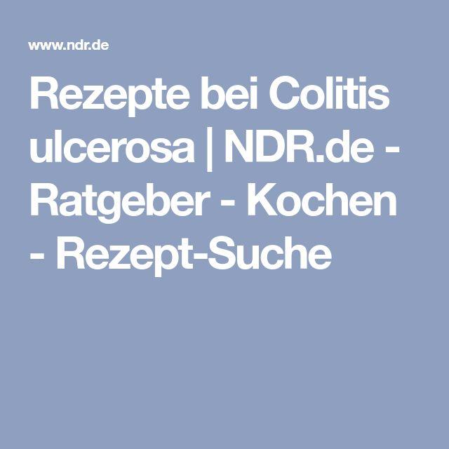 Rezepte bei Colitis ulcerosa   NDR.de - Ratgeber - Kochen - Rezept-Suche