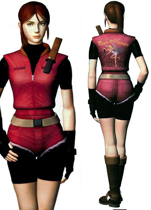 "Claire Redfield ""Made in Heaven"" outfit from Resident Evil 2 #residentevil2 #claireredfield"