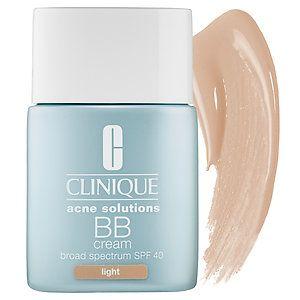CLINIQUE - Acne Solutions BB Cream Broad Spectrum SPF 40 in Light Medium #sephora