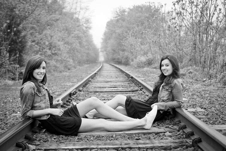 Chillin' on the tracks.