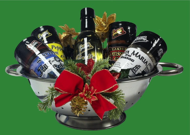 Fabulous seasonal gift baskets from Scott's Food Products. $49   sales@scottsfoodproducts.com or 562.630.8448