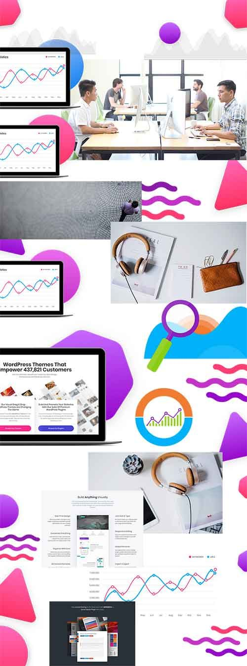 Free Stock Images from Divi Layout Packs
