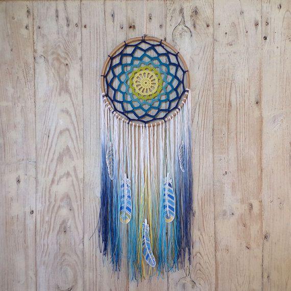 Meer dan 1000 idee?n over Crochet Dreamcatcher Pattern op ...
