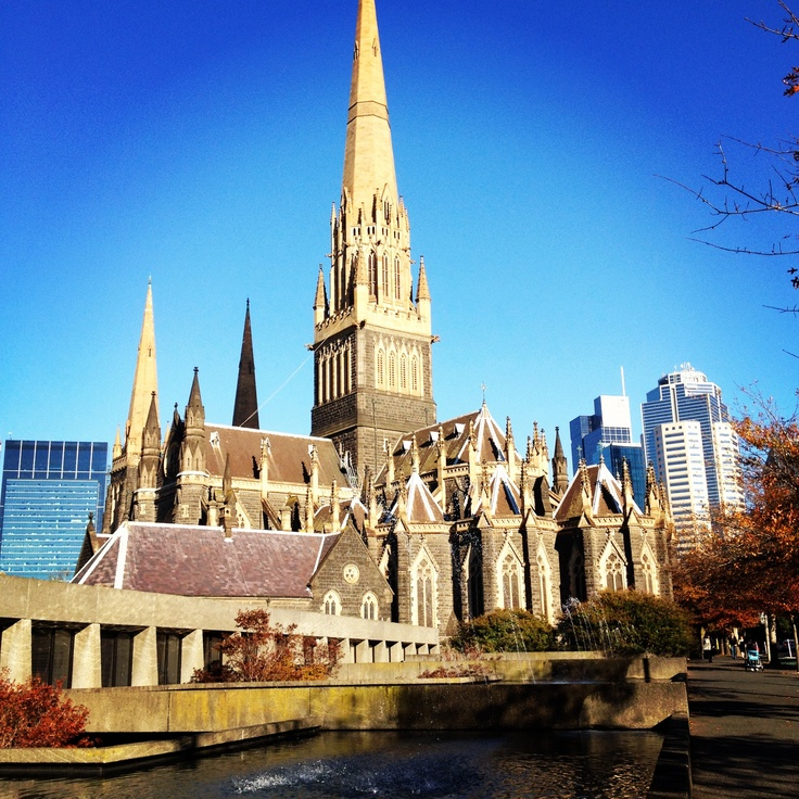 St Patrick's Cathedral, Albert Street, East #Melbourne