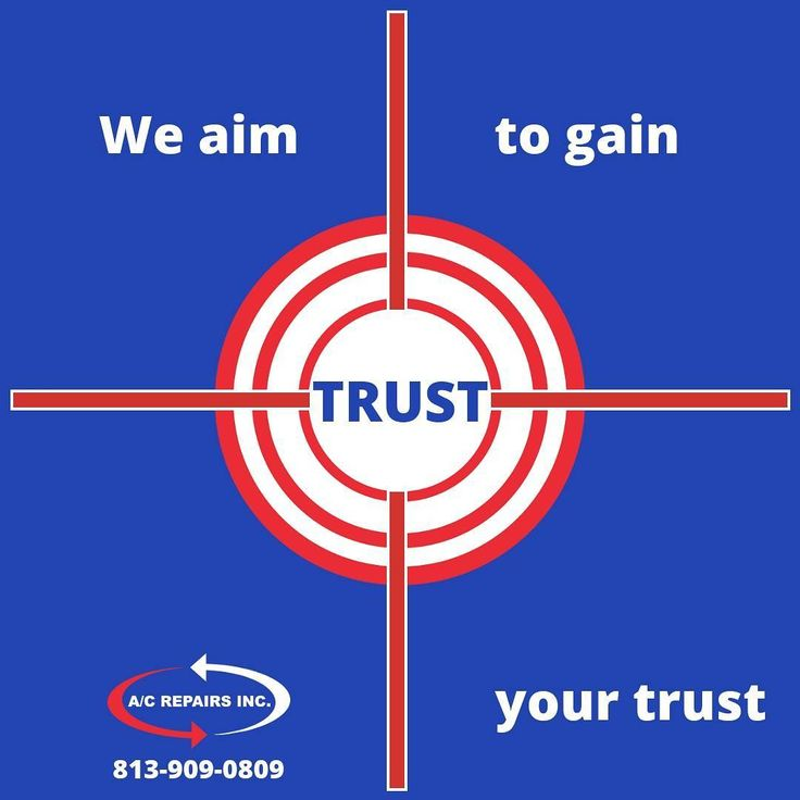 What's more valuable than your business? Your TRUST. We'll work hard to earn it and even harder to keep it.  #trusted #trust #tampa #hillsborough #pasco #pinellas #tampabay #hvac #airconditioning